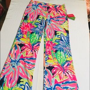 Lilly Pulitzer New Colorful Pants Size Small